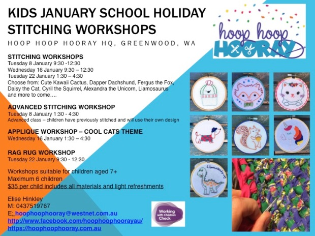 January school holidays 2019 advertisement